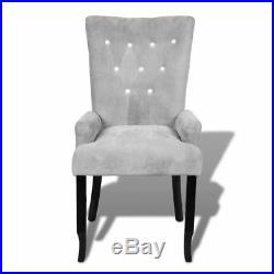 VidaXL Armchair Tufted Velvet Accent Armchair Vintage Furniture Multi Colors