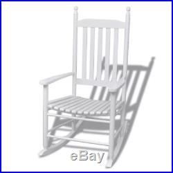 Enjoyable Vidaxl Indoor Outdoor Porch Patio Rocking Chair Hardwood Fir Gamerscity Chair Design For Home Gamerscityorg