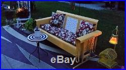 Vintage Porch Swing Glider